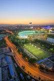National Olympic Sports Center scenery Royalty Free Stock Photography