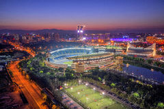 National Olympic Sports Center scenery Royalty Free Stock Photo