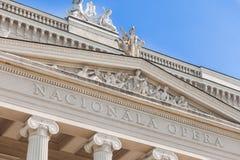 National Opera House, Riga, Latvia Stock Photos