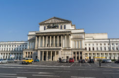 National Opera House in Warsaw Stock Image