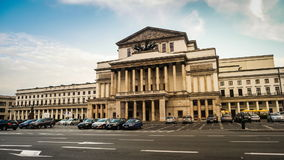 National Opera House in Warsaw stock video footage