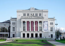 National Opera in Riga, Latvia Stock Image
