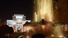 National Opera in Timisoara stock footage