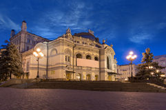 National Opera of Ukraine in Kiev Royalty Free Stock Images