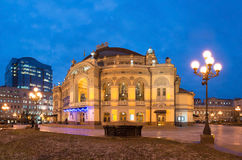 National Opera of Ukraine in Kiev Stock Photo