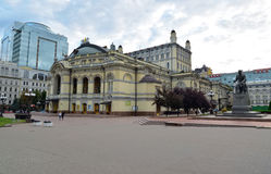 National Opera of Ukraine Stock Image