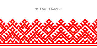 National ornament background Royalty Free Stock Photos