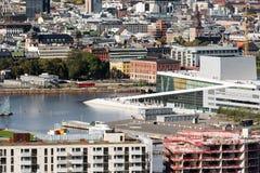 National Oslo Opera House Oslo Norway Stock Photos