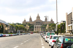 National Palace - Barcelona Stock Photography