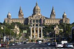 National Palace - Barcelona - Spain stock image