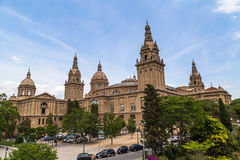 National Palace Barcelona Royalty Free Stock Photography