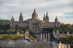 The National Palace in Barcelona Royalty Free Stock Photography
