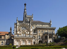 National Palace of Bussaco Royalty Free Stock Images