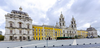 National Palace and Franciscan Convent of Mafra, Portugal Royalty Free Stock Images