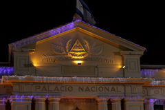 National Palace from Managua, Nicaragua Royalty Free Stock Images