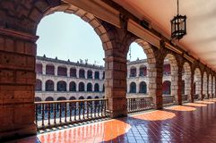 National Palace in Mexico City Royalty Free Stock Images