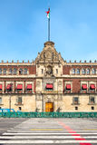 The National Palace in Mexico City Stock Photography