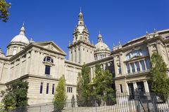 The National Palace of Montjuic Royalty Free Stock Photo