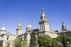 The National Palace of Montjuic Stock Image