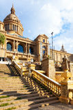 National Palace of Montjuic in Barcelona Royalty Free Stock Photography