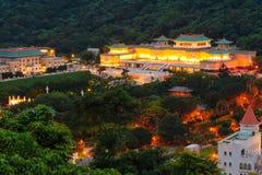 National Palace Museum at night Royalty Free Stock Photos