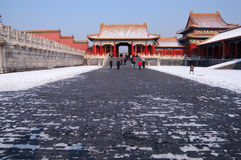 National Palace Museum Plaza Royalty Free Stock Photo