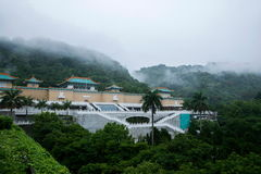 National Palace Museum in Taipei after the rain Stock Photo