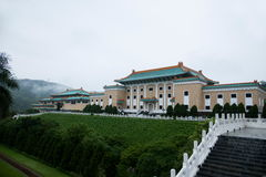 National Palace Museum in Taipei after the rain Royalty Free Stock Photos