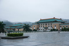 National Palace Museum in Taipei after the rain Royalty Free Stock Photography