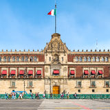The National Palace next to the Zocalo in Mexico City Stock Photography