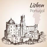 The National Palace of Pena - Portugal. Stock Photography