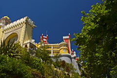 National palace of pena royalty free stock photography