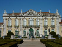 National palace Queluz Royalty Free Stock Photography