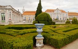 The National Palace of Queluz Stock Photo