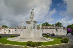 National Palace of Queluz, historical monuments in Lisbon. Queluz, Porugal - July 2014: The Pousada of D. Maria is part of the Pousadas de Portugal network of stock photos