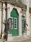 The national palace in Queluz in Portugal Royalty Free Stock Images