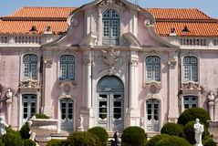 National Palace in Queluz Royalty Free Stock Image