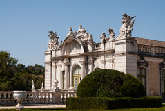 National Palace in Queluz Stock Image