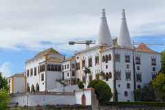 National Palace of Sintra, Portugal Stock Photography