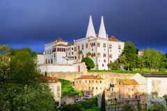 The National Palace, Sintra, Portugal Stock Photography
