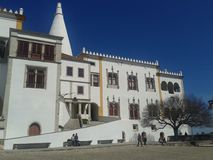 National Palace Sintra Royalty Free Stock Photography