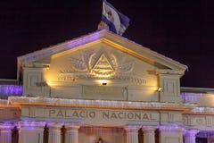 National Palace View at night fromManagua, Nicaragua Stock Photos