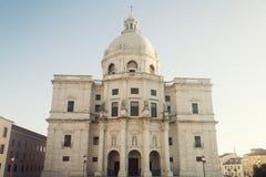 National Pantheon - Church of Santa Engracia in Lisbon Stock Photos