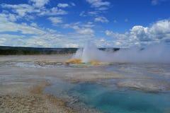 National-parc Yellowstone de piscine Photos libres de droits