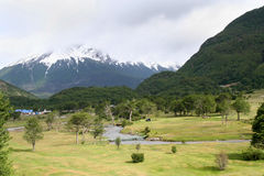 National park. Landscape in tierra del fuego national park, in ushuaia (Argentina Stock Photography