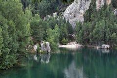 National Park of Adrspach-Teplice rocks. Czech Republic Stock Photo