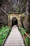 National Park of Adrspach-Teplice rocks. Czech Republic Royalty Free Stock Image