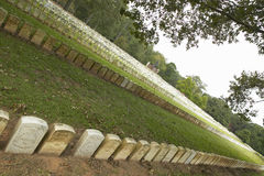 National Park Andersonville or Camp Sumter, a National Historic Site in Georgia, site of Confederate Civil War prison and cemetery Royalty Free Stock Photos