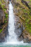 National Park,beautiful deep forest waterfall in Thailand. Chock Ka Din Waterfall. Royalty Free Stock Photos
