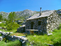"National Park ""Biokovo"". Stone house in the national park ""Biokovo Royalty Free Stock Images"